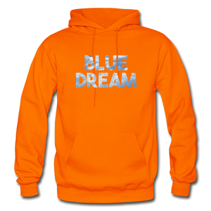 Men's Blue Dream Hoodie - orange