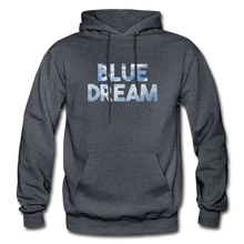 Load image into Gallery viewer, Men's Blue Dream Hoodie - charcoal gray