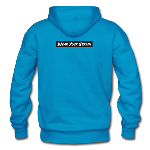 Men's Blue Dream Hoodie - turquoise
