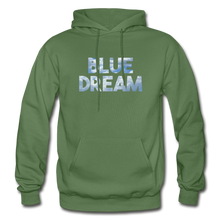 Load image into Gallery viewer, Men's Blue Dream Hoodie - military green