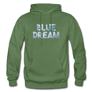 Men's Blue Dream Hoodie - military green