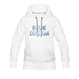 Women's Blue Dream Hoodie - white