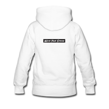 Load image into Gallery viewer, Women's Blue Dream Hoodie - white