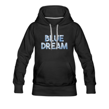 Load image into Gallery viewer, Women's Blue Dream Hoodie - black
