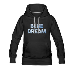 Women's Blue Dream Hoodie - black