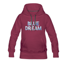 Load image into Gallery viewer, Women's Blue Dream Hoodie - burgundy