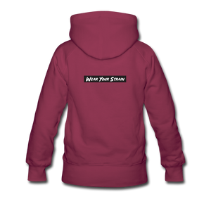 Women's Blue Dream Hoodie - burgundy