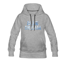 Load image into Gallery viewer, Women's Blue Dream Hoodie - heather gray