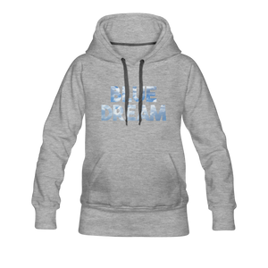 Women's Blue Dream Hoodie - heather gray