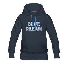 Load image into Gallery viewer, Women's Blue Dream Hoodie - navy