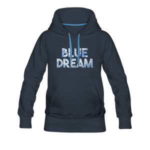 Women's Blue Dream Hoodie - navy