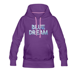 Women's Blue Dream Hoodie - purple