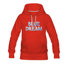 Load image into Gallery viewer, Women's Blue Dream Hoodie - red