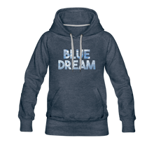 Load image into Gallery viewer, Women's Blue Dream Hoodie - heather denim