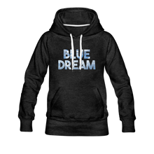 Load image into Gallery viewer, Women's Blue Dream Hoodie - charcoal gray