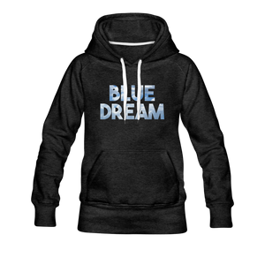 Women's Blue Dream Hoodie - charcoal gray