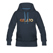 Load image into Gallery viewer, Women's Gelato Hoodie - navy