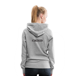 Women's Girl Scout Cookie Hoodie - heather gray
