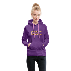 Women's Girl Scout Cookie Hoodie - purple