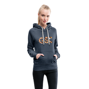 Women's Girl Scout Cookie Hoodie - heather denim