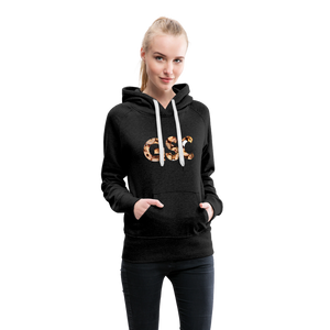 Women's Girl Scout Cookie Hoodie - charcoal gray