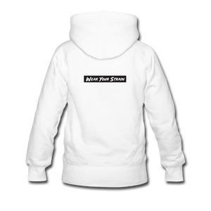 Women's Pineapple Express Hoodie - white