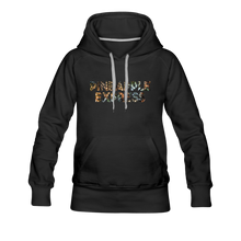 Load image into Gallery viewer, Women's Pineapple Express Hoodie - black