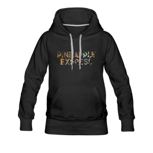 Women's Pineapple Express Hoodie - black