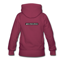 Load image into Gallery viewer, Women's Pineapple Express Hoodie - burgundy