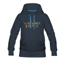 Load image into Gallery viewer, Women's Pineapple Express Hoodie - navy