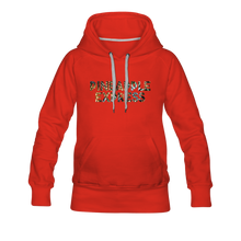 Load image into Gallery viewer, Women's Pineapple Express Hoodie - red