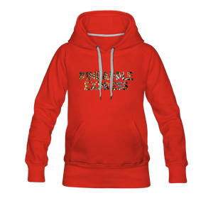 Women's Pineapple Express Hoodie - red