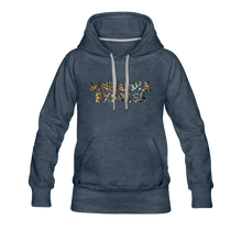 Load image into Gallery viewer, Women's Pineapple Express Hoodie - heather denim