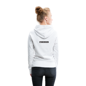 Women's Purple Punch Hoodie - white