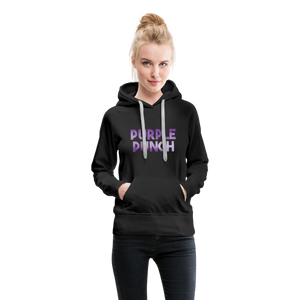 Women's Purple Punch Hoodie - black
