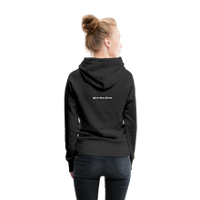 Load image into Gallery viewer, Women's Purple Punch Hoodie - black
