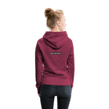 Load image into Gallery viewer, Women's Purple Punch Hoodie - burgundy