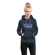 Load image into Gallery viewer, Women's Purple Punch Hoodie - navy