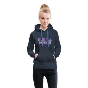 Women's Purple Punch Hoodie - navy