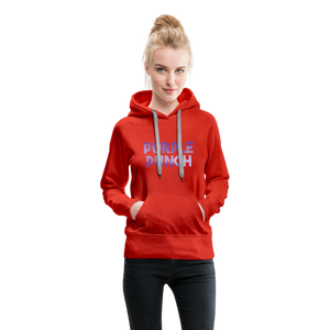 Women's Purple Punch Hoodie - red