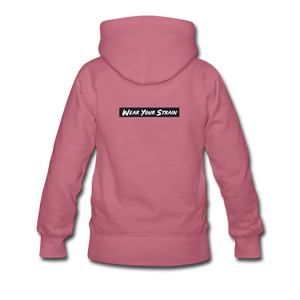 Women's Purple Punch Hoodie - mauve
