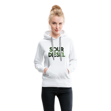 Load image into Gallery viewer, Women's Sour Diesel Hoodie - white