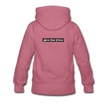 Load image into Gallery viewer, Women's Sour Diesel Hoodie - mauve
