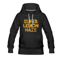 Load image into Gallery viewer, Women's Super Lemon Haze Hoodie - black