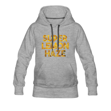 Load image into Gallery viewer, Women's Super Lemon Haze Hoodie - heather gray