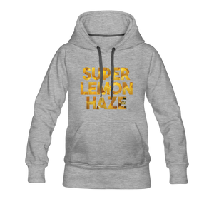 Women's Super Lemon Haze Hoodie - heather gray