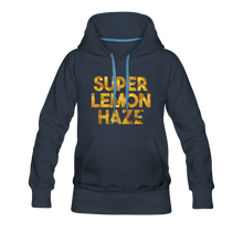 Load image into Gallery viewer, Women's Super Lemon Haze Hoodie - navy