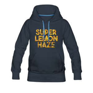 Women's Super Lemon Haze Hoodie - navy