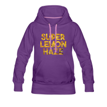 Load image into Gallery viewer, Women's Super Lemon Haze Hoodie - purple