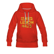 Load image into Gallery viewer, Women's Super Lemon Haze Hoodie - red